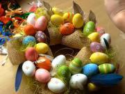 Venček z veľkonočných vajíčok