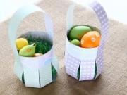 DIY - ako vyrobiť košík z papiera