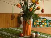 Váza z mrkvy