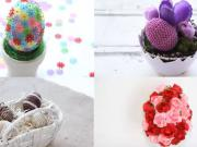 DIY - 4 nápady na veľkonočné vajíčka