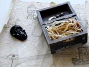 Ako vyrobiť mapu a truhlicu s pokladom