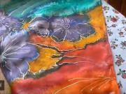 Ako prať a žehliť hodvábne šatky
