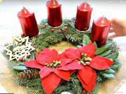 2 x návod na Vianočný adventný veniec