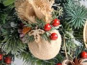 4 návody na vianočné ozdoby z jutoviny