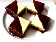 Dvojfarebné orechové kocky - recept