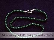 Malachitový náhrdelník - jak si ho vyrobit?
