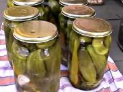 Zaváranie uhoriek - recept na zavárané / nakladané uhorky