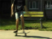 Frontside ollie 180 - Škola skateboardingu-lekcia 2.trick frontside ollie 180