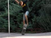 Kickflip - Škola skateboardingu-lekce 5. trick Kickflip