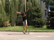 Kickflip-shove it - Škola skateboardingu - lekcia 6. trick kickflip-shove it