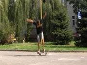 Kickflip-shove it - Škola skateboardingu -lekce 6. trick kickflip-shove it