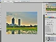 Panoramatická fotografie - Photoshop - Jak udělat panoramatickou fotografii