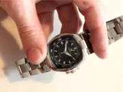 Výmena batérie v hodinkách