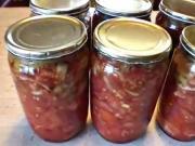 Zavárané lečo - recept na zavárané zeleninové lečo