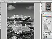 Vytvorenie čiernobielej fotografie - Photoshop
