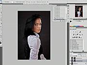 Zmena osvetlenia a tieňovanie fotiek - Photoshop - ako tieňovať fotky vo Photoshope