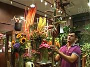 Extravagantná kytica - ako vyrobiť pestrú kyticu