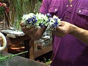 Věneček z květů - jak si vyrobit  věneček z květů