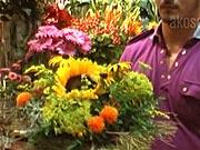 Kvetinová dekorácia - ako vyrobiť dekoráciu z kvetov