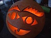 Halloweenska tekvica 1 - Ako vyrezať tekvicu - vyrezávanie tekvice