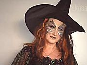 Čarodejnica - ako si pripraviť masku čarodejnice
