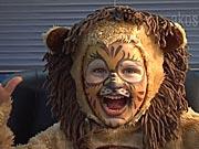 Lev - ako si pripraviť masku leva