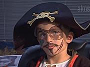 Pirát - ako si pripraviť masku piráta