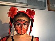 Lienka - ako si pripraviť masku lienky
