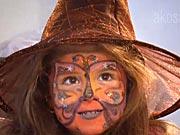 Mala čarodejnica a netopieria žienka - ako si pripraviť masku