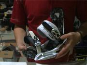 Výber viazania na snowboard - ako si vybrat snowboardové viazanie a topánky