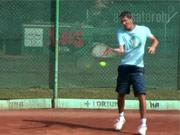 Tenisový úder - forehand / forhend -Tenis