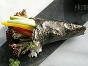 Sushi Temaki - recept na Sushi Temaki