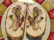 Kuřecí roláda - recept na kuřecí roládu