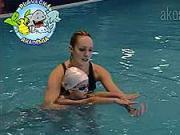 Nácvik splývania - Plávanie detí - ako naučiť dieťa plávať