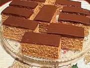 Medové řezy - recept na medove řezy s čokoládou