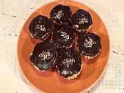Čokoládové košíčky - recept na plnené čokoládové košíčky s rumom