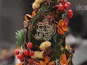Netradičný vianočný stromček - ako si vyrobiť netradičný vianočný stromček